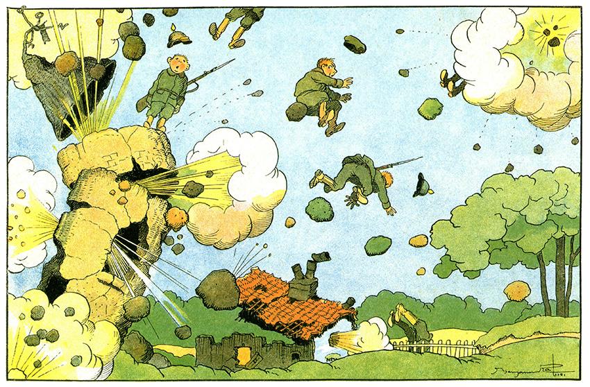 Bulles de guerre Historial du paysan soldat